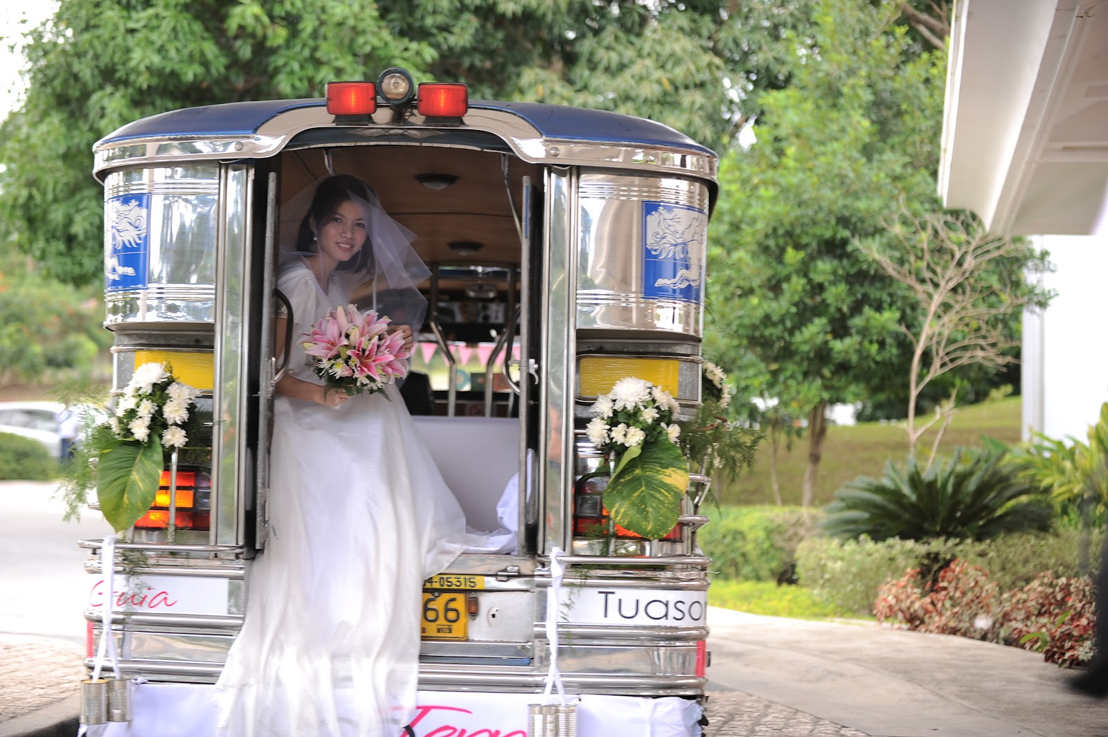 Design of bridal car - Bawal Sumabit
