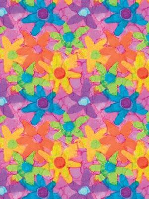 Dibujo de flores de colores con acuarela  Laminas de flores para imprimir