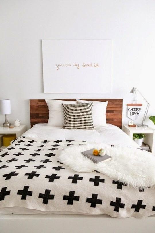 Ã¥pent hus: detaljer til soverommet / bedroom details
