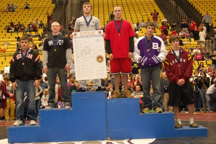 Trevor Hansen 3rd place State 160 lbs