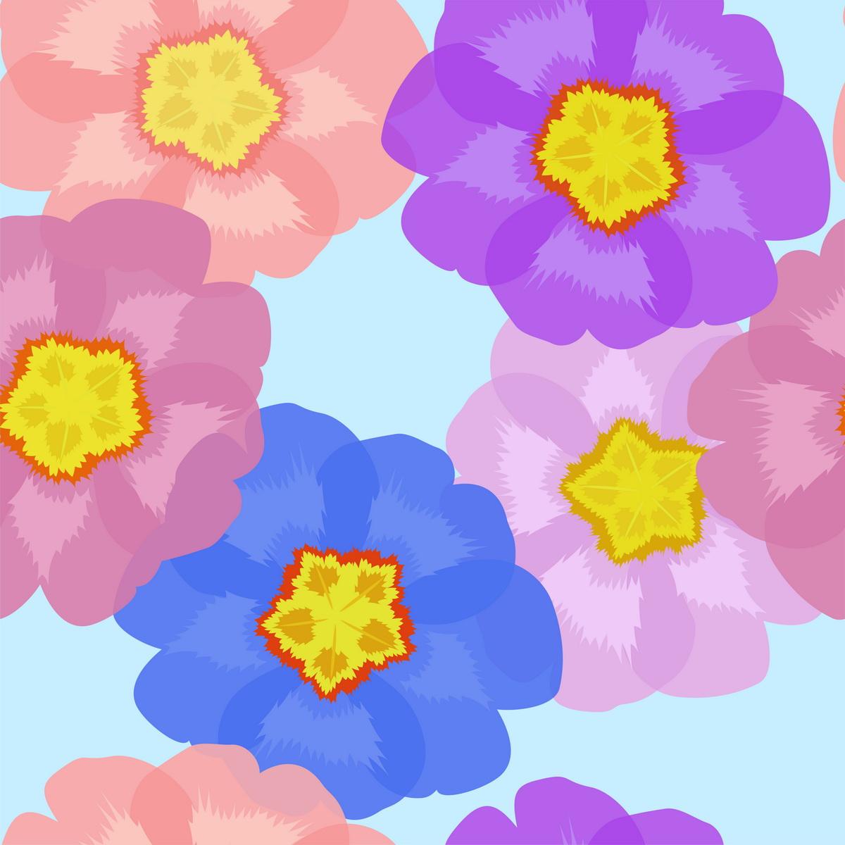 Бесшовные цветочные фоны бесплатно.