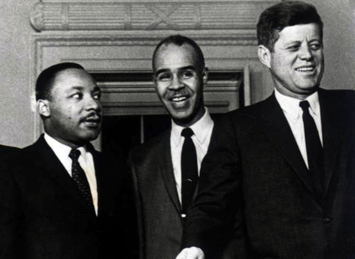 john kennedy and martin luther king jr relationship