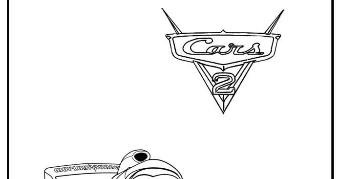 Cars 2 disegno da colorare n 3 for Disegno di cars 2 da colorare