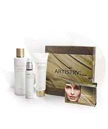 how to use artistry cleanser