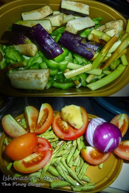 Vegetables for dinengdeng