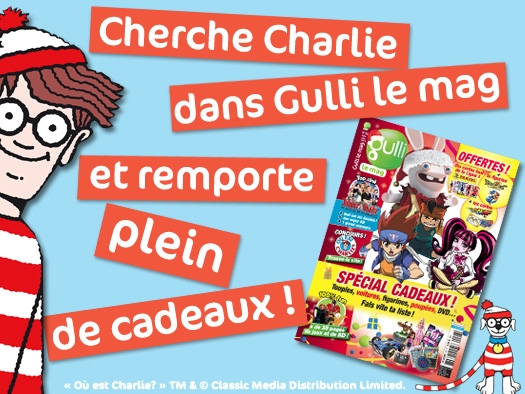 """10 jeux """"Où est Charlie"""" + 5 puzzles à gagner"""