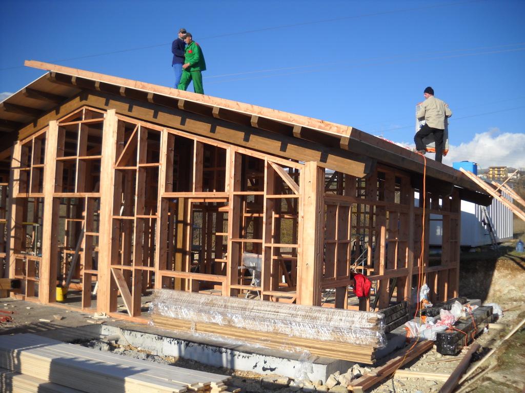 Case in legno perch scegliere una casa in legno for Come finanziare una casa