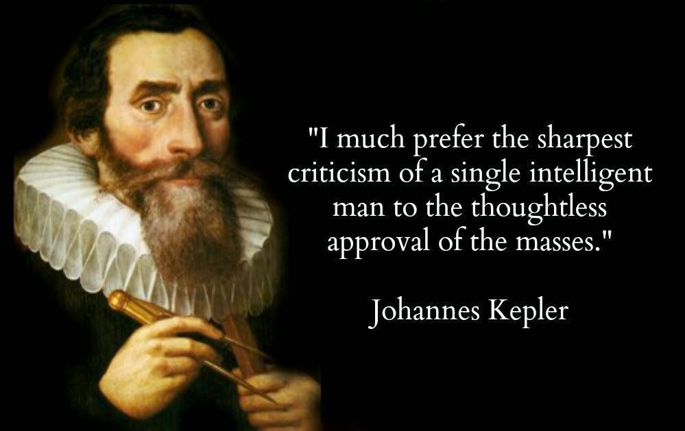 Johannes Kepler Quotes About Quotesgram