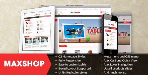 Multipurpose Magento Theme 2015