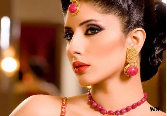I Bridal Mehndi Jewellery : Neo bollywood bridal dresses wedding wear mehndi latest jewelry