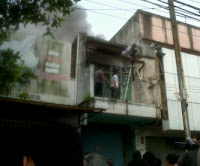 Toko Elektronik di Pangandaran Terbakar
