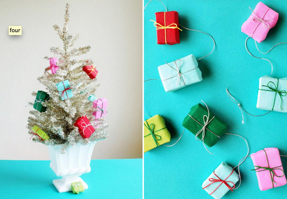 como hacer guirnaldas de navidad guirnalda de regalos with como hacer guirnaldas de navidad - Como Hacer Una Guirnalda