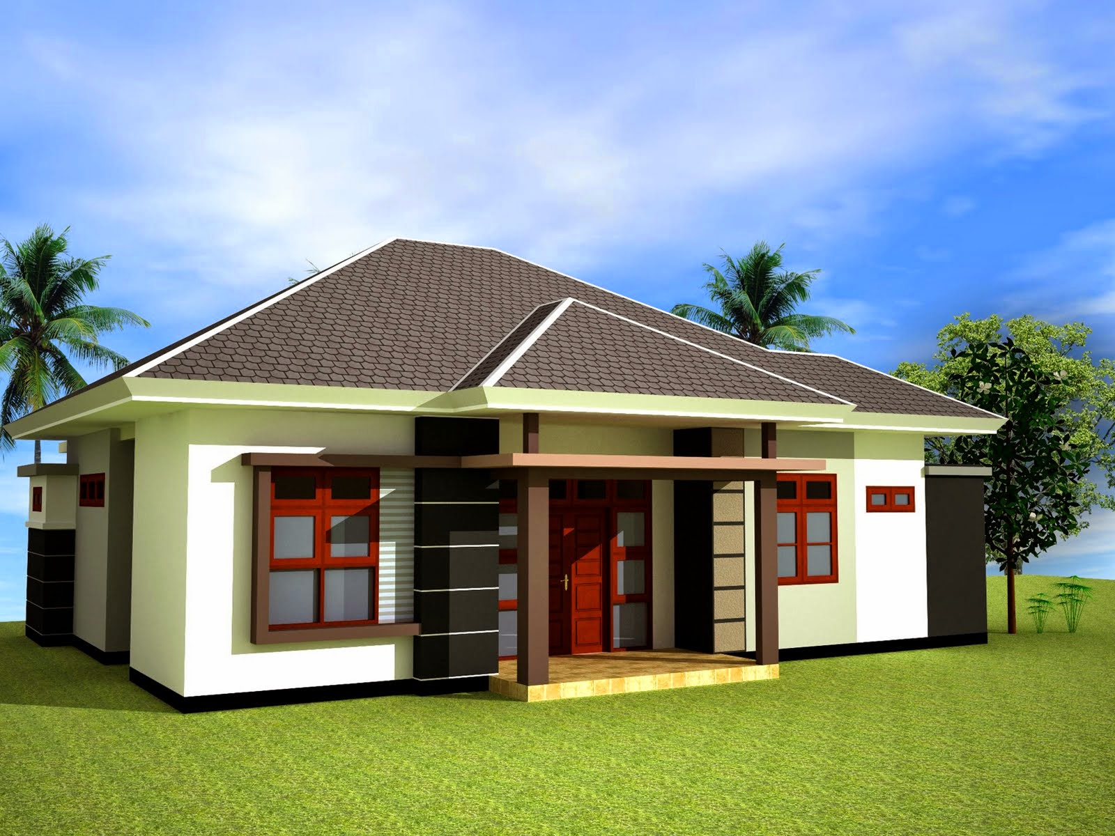Design Rumah Exterior Home Designs In  Trend Home Design