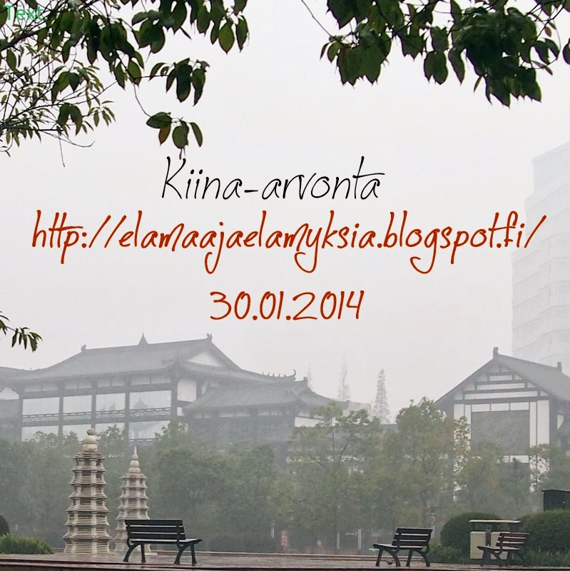 http://elamaajaelamyksia.blogspot.fi/2014/01/kiina-arvonta.html