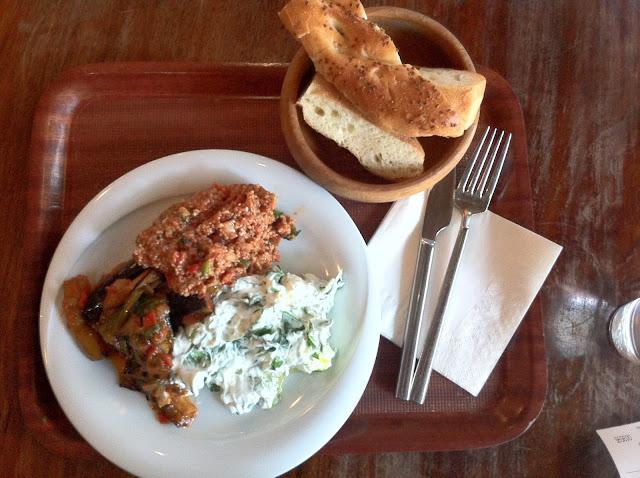 Hazev+deli+canary+wharf+meze+lunch
