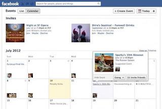 facebook calendario