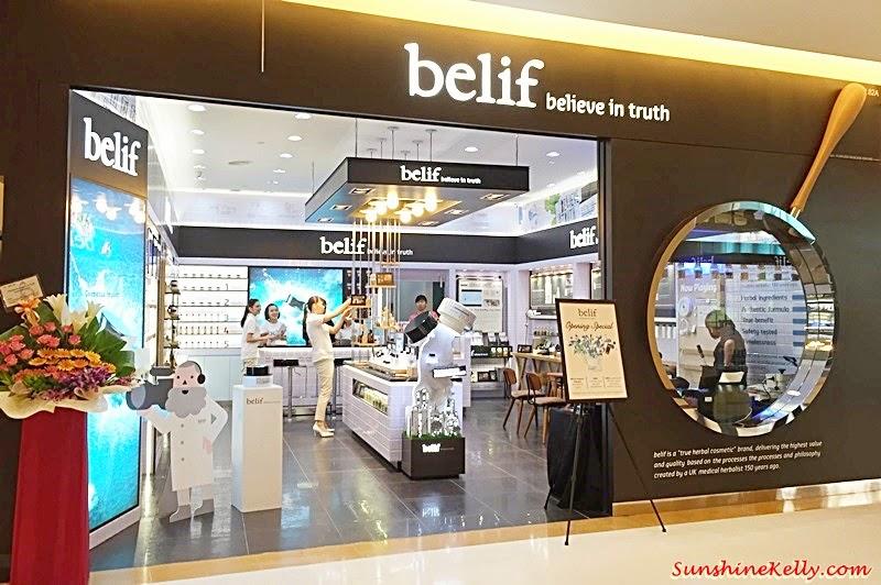 Belif in Malaysia, Sunway Pyramid, Belif skincare, Belif, Korea skincare, Belif Sunway Pyramid
