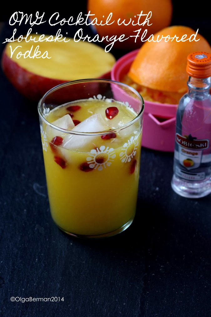 Mango tomato perfect cocktail to celebrate new year for Morning cocktails with vodka