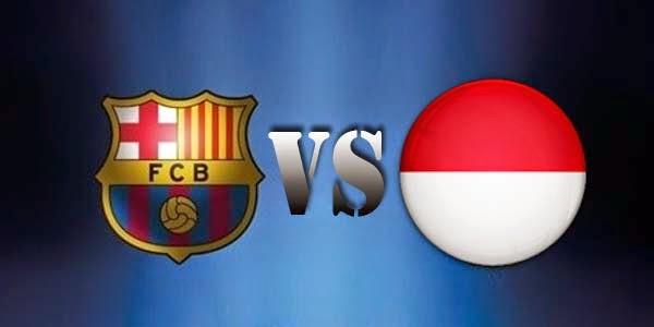 Hasil Skor Akhir Indonesia U19 vs Barcelona LIVE SCTV