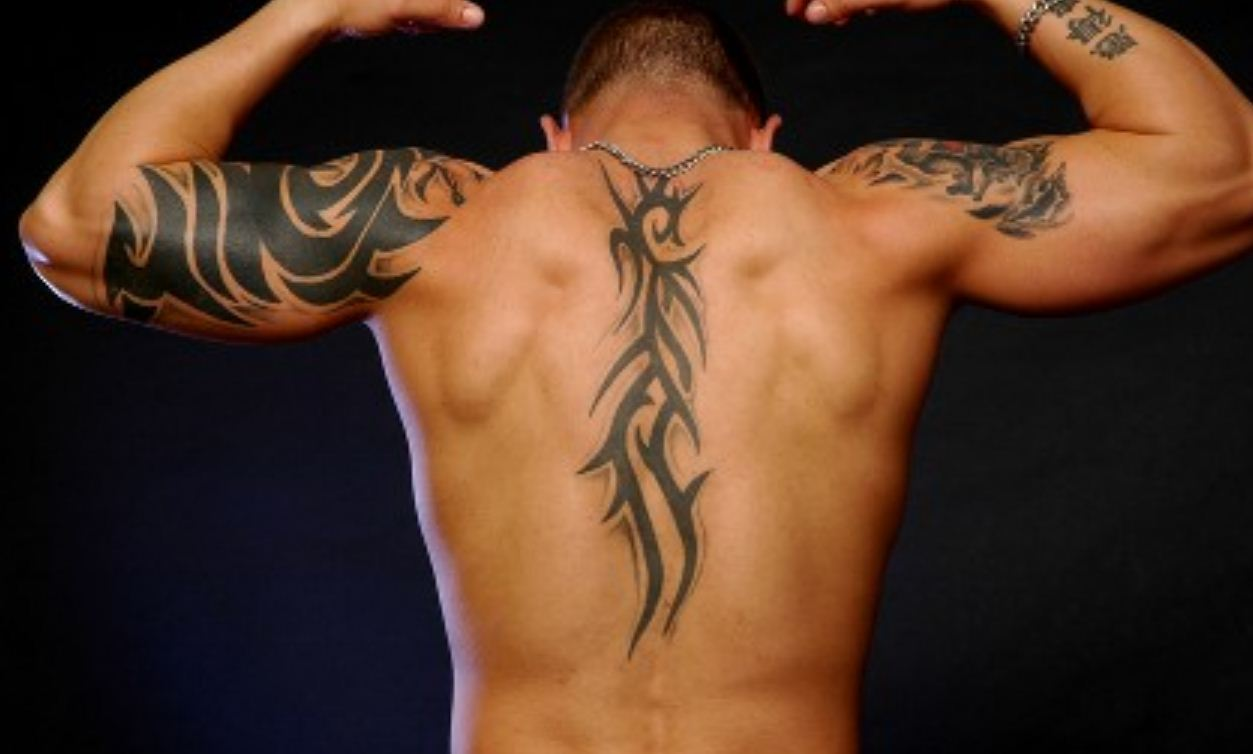 Tribal Back Tattoos For Men