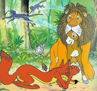 fabulas con moraleja - el asno vestido con piel de leon