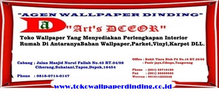 0818-0714-0147 - Toko Jual Wallpaper Dinding Depok Margonda