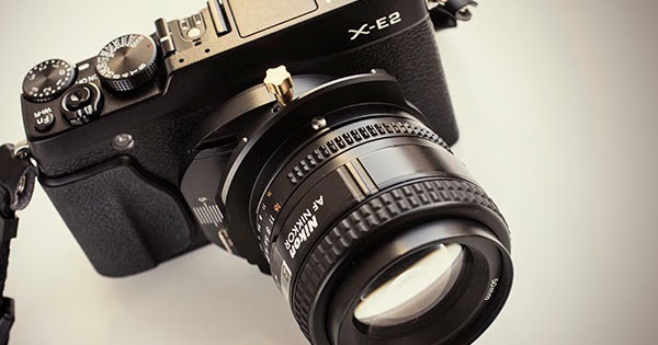 Tilt-shift adapter on the Fuji X-E2, X-Pro1, and X-T1 cameras