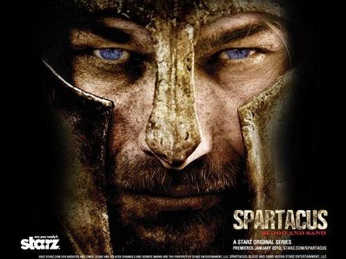 Spartacus: 1º, 2º e 3º Temporadas Completas