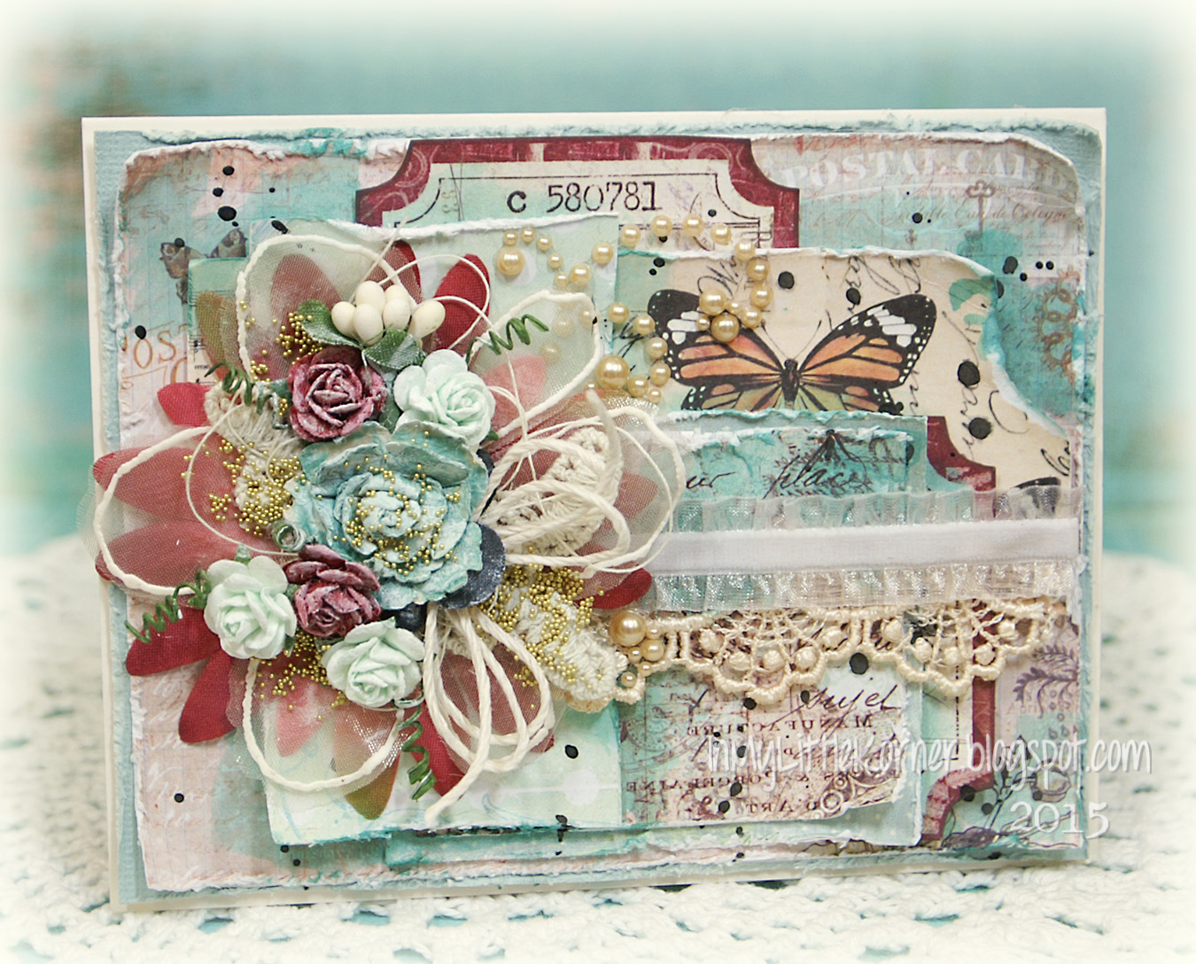 Shabby Chic Colors For 2015 : In my little korner: all occasion card a style potpourri