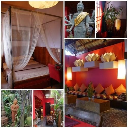 高棉之住宿篇。golden temple villa