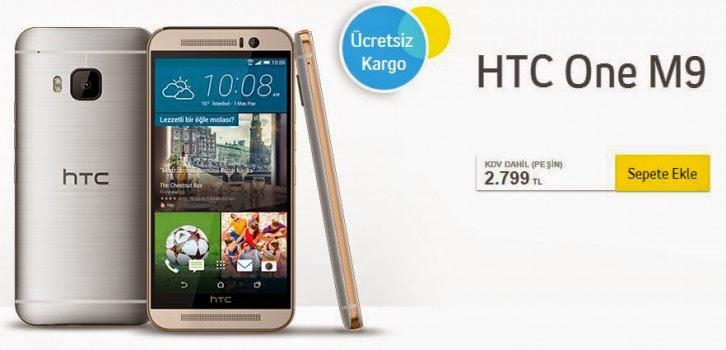 HTC One M9 Turkcell Ön Sipariş