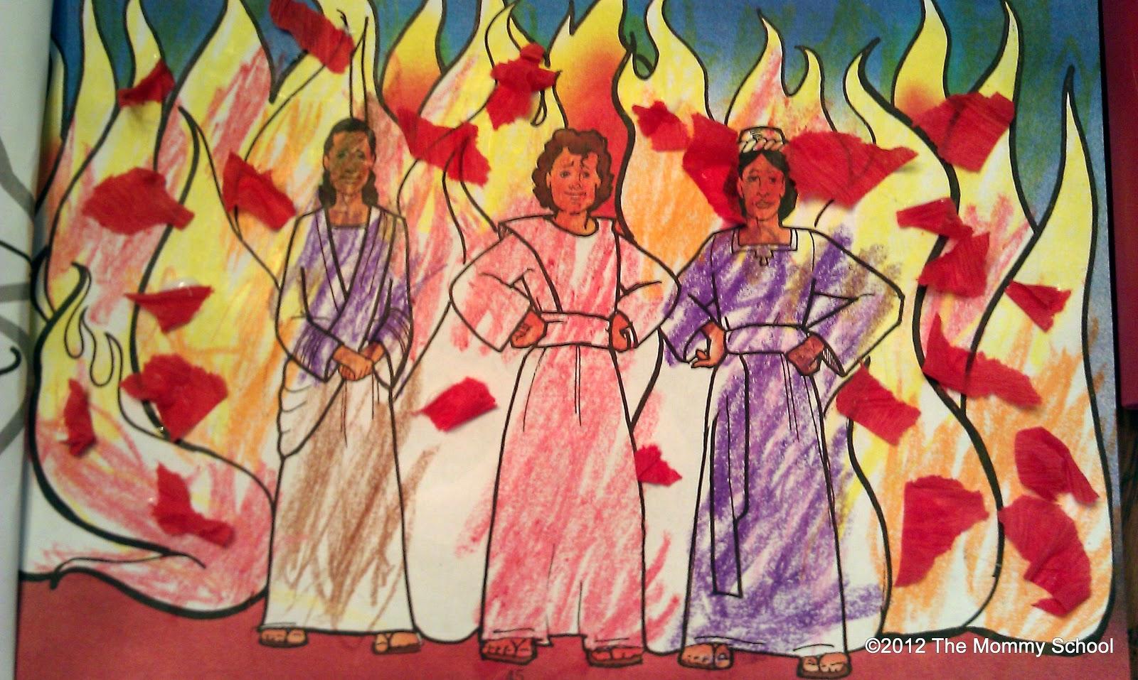 the mommy week 12 fiery furnace