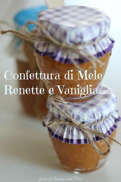 confettura di mele renette e vaniglia bourbon