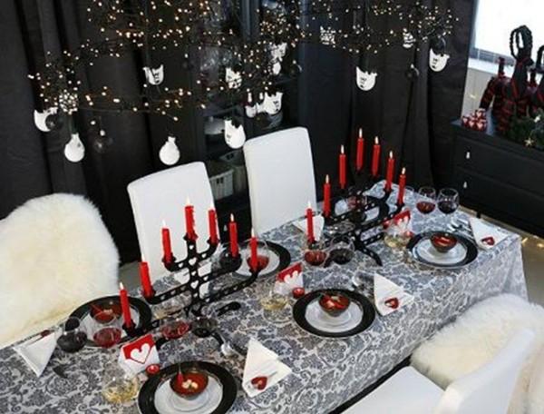 Feel good events blanco negro y rojo decoraciones para - Decoracion blanco negro rojo ...
