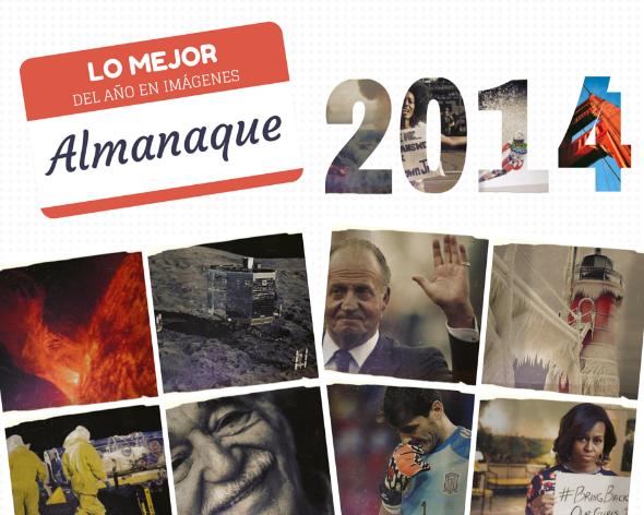 Almanaque 2014 lo mejor del año en imágenes