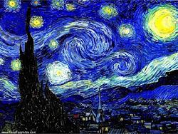 Noite Estrelada - Van Gogh