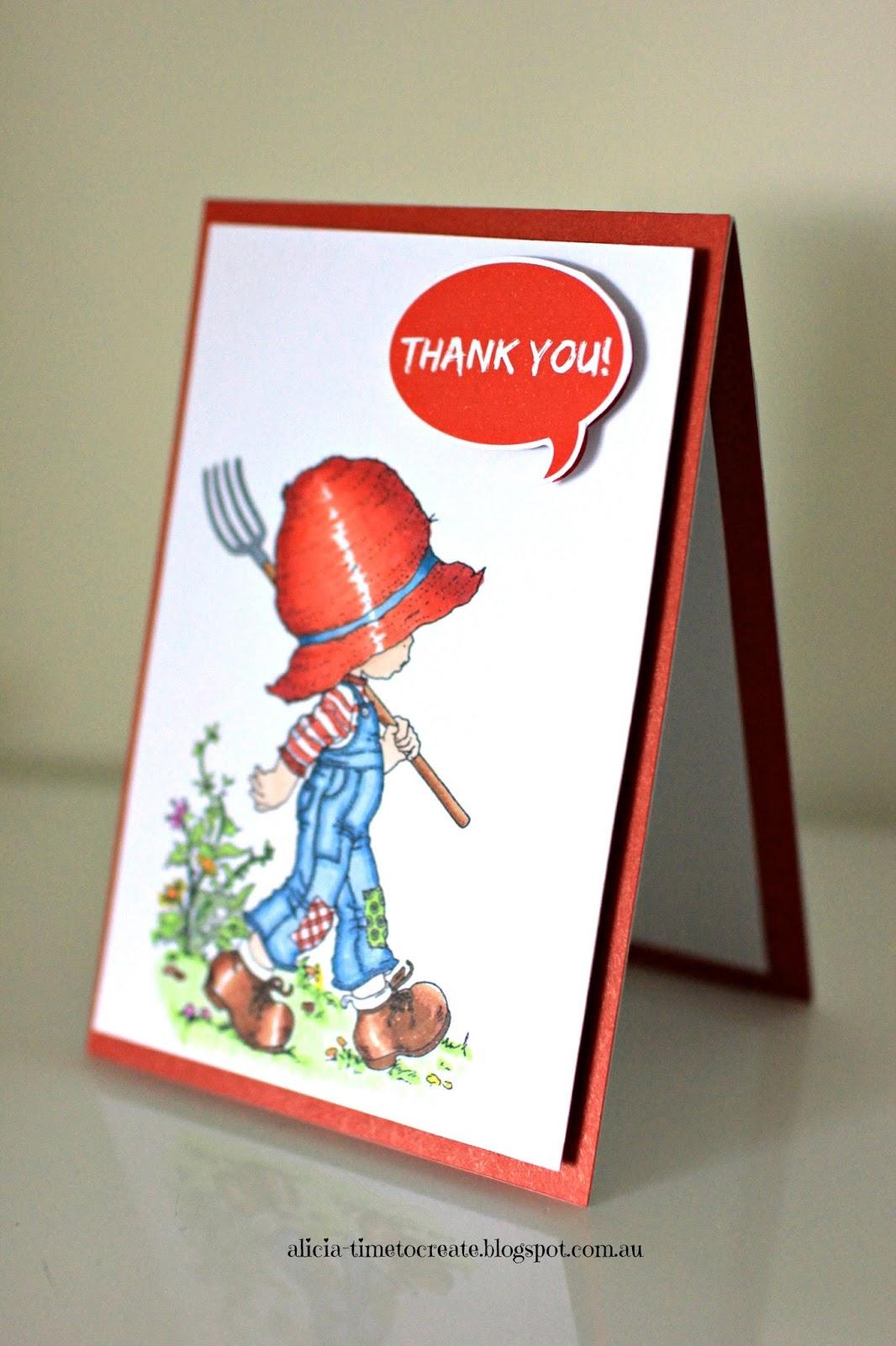 Sarah Kay Thank You Card