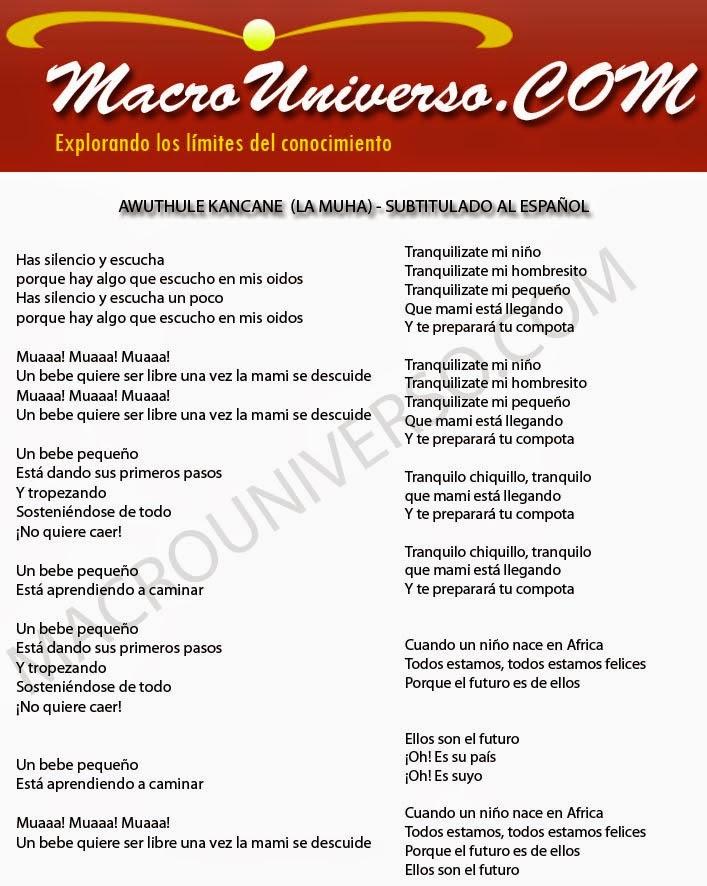 Awuthule Kancane La muha subtitulada al español