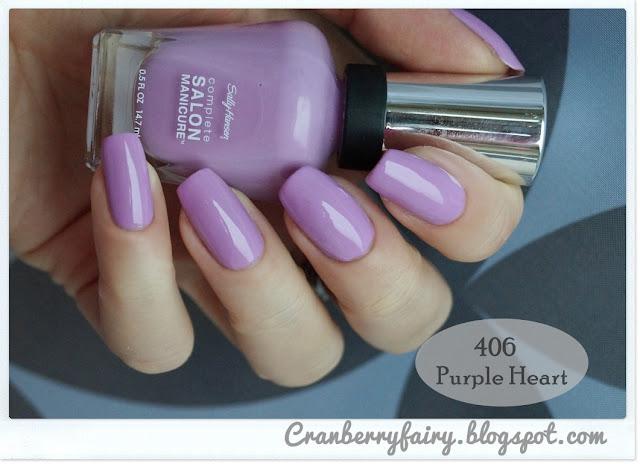 liliowy lakier do paznokci