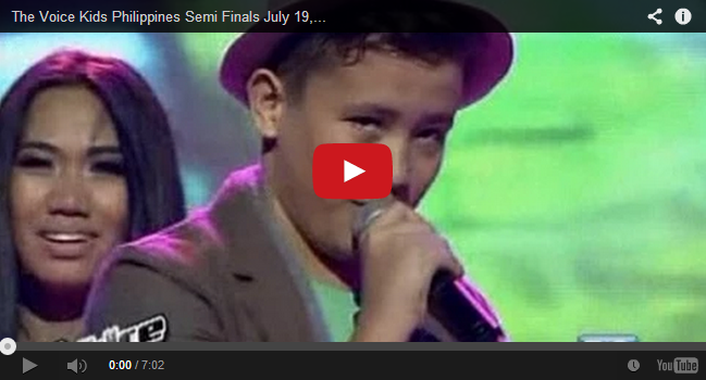 Semi Finals: 'Sway' performed by Juan Karlos Labajo on The Voice Kids PH