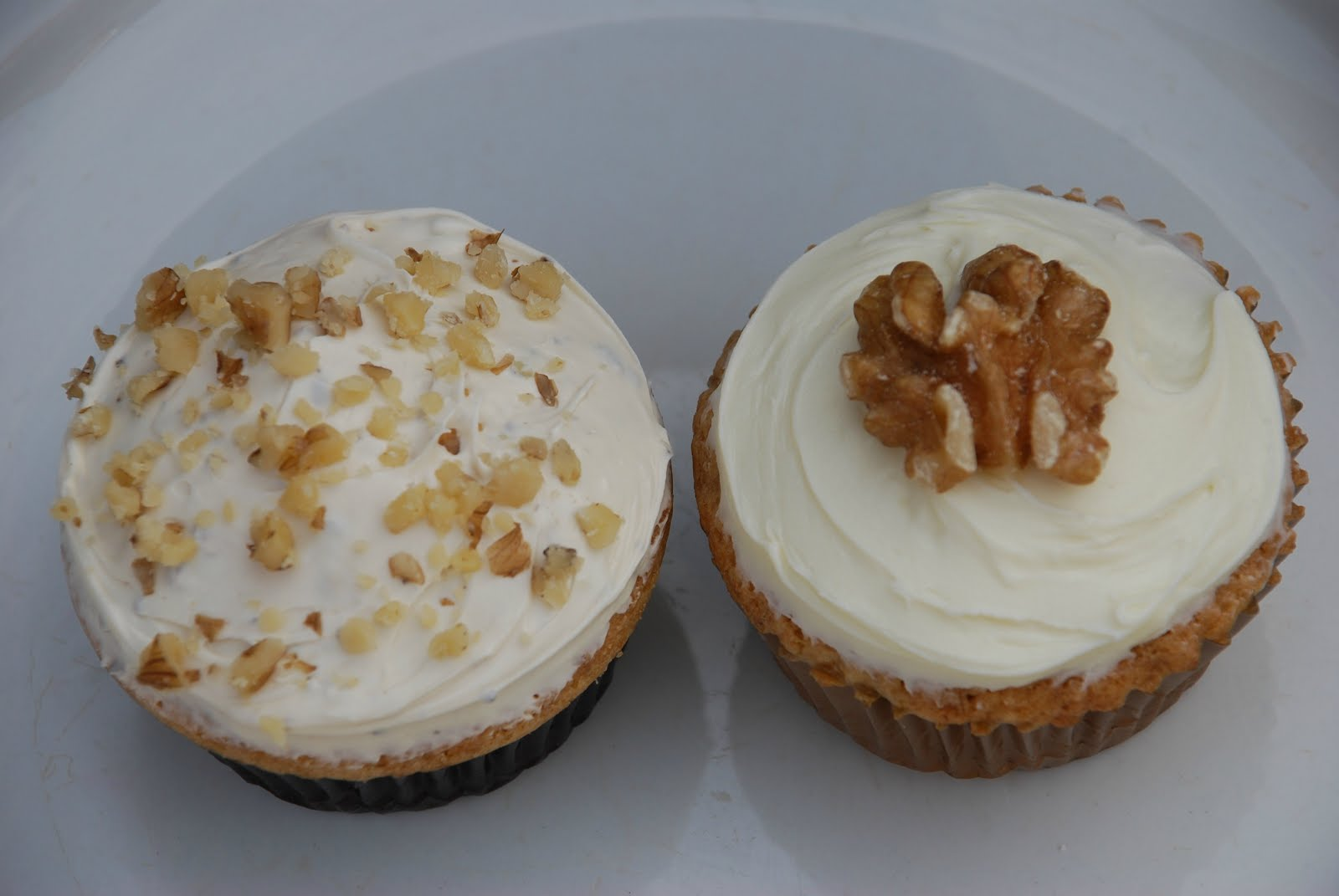 Coffee And Walnut Fairy Cakes