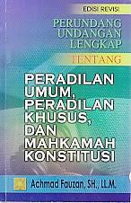 Perpu Umum, Khusus, dan Mahkamah Konstitusi oleh Achmad Fauzan SH LL M