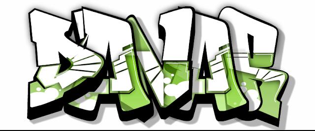 Gambar Tulisan Graffiti