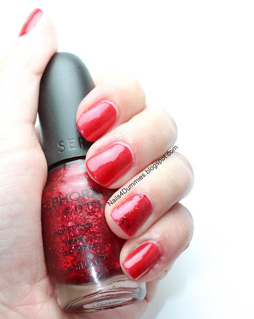 Red Velvet mani
