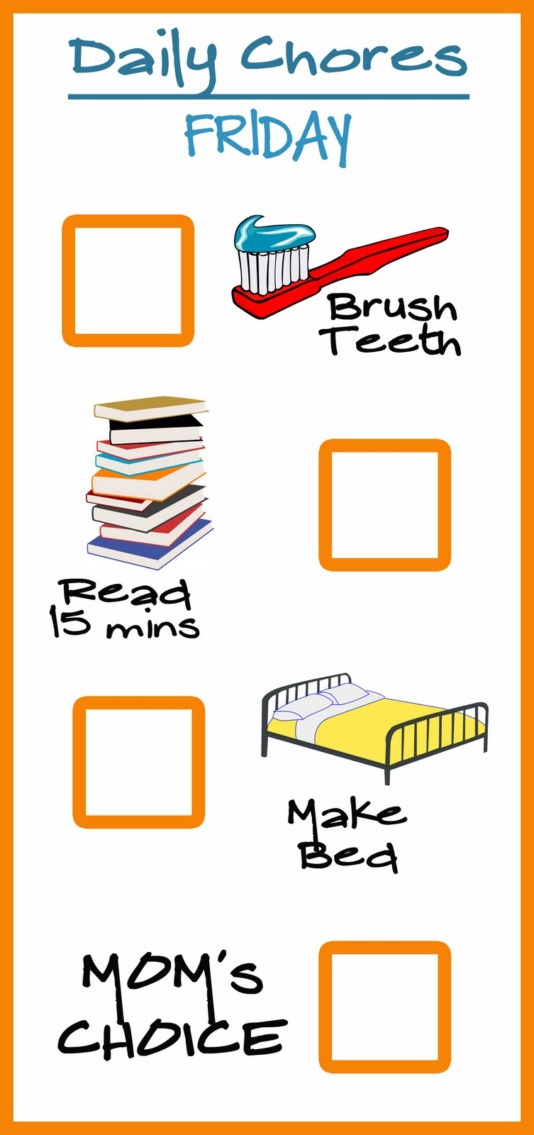 printable  friday pre k