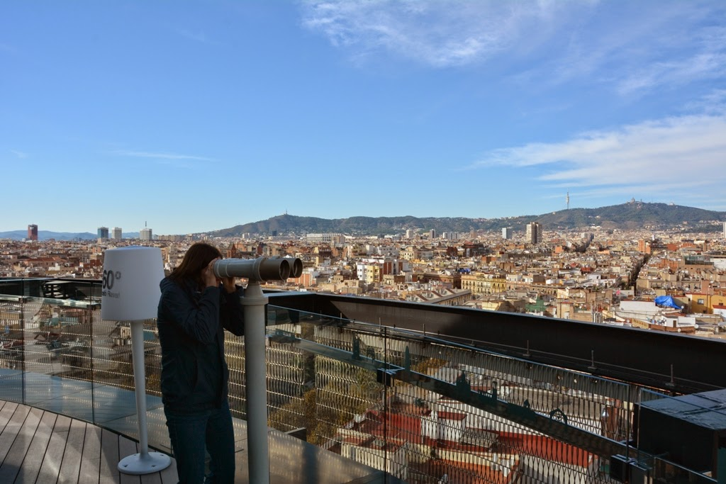 Hotel Barcelo Raval, Barcelona views