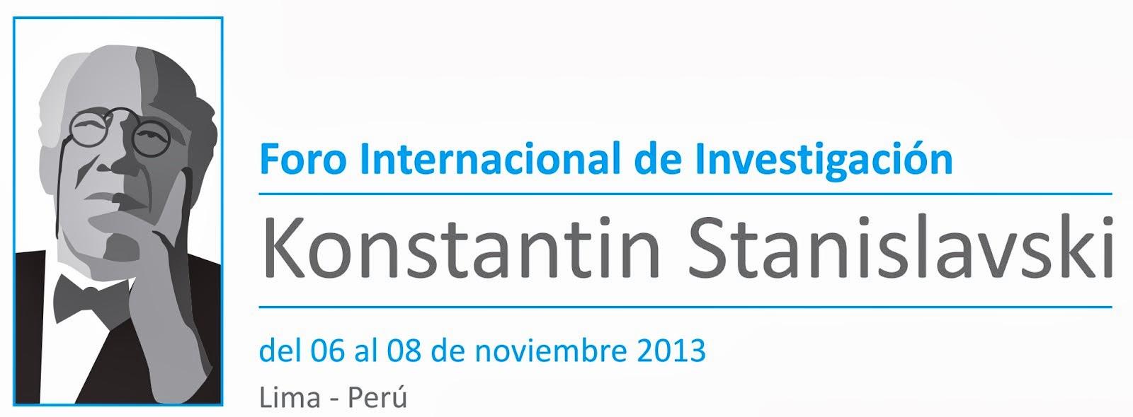 Foro Stanislavski en Lima