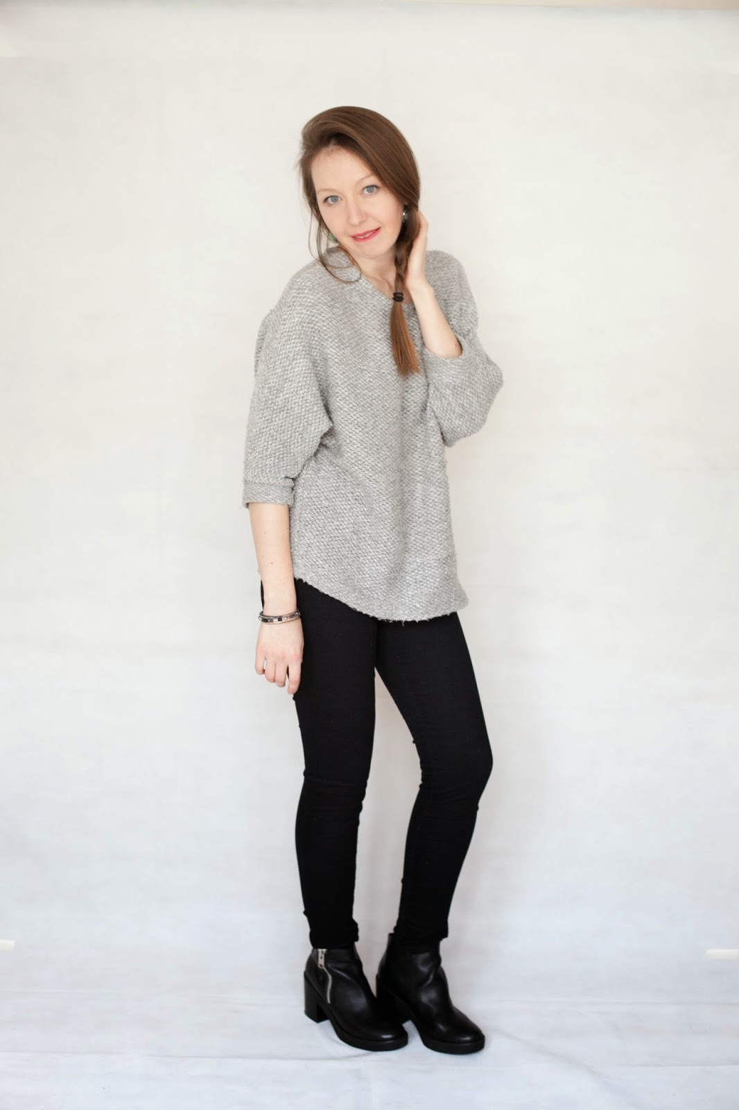 Just in Style everyday casual outfit jeans and over sized jumper