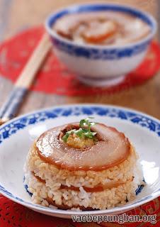 Cách làm thịt heo cuộn hấp thơm ngon đổi vị6