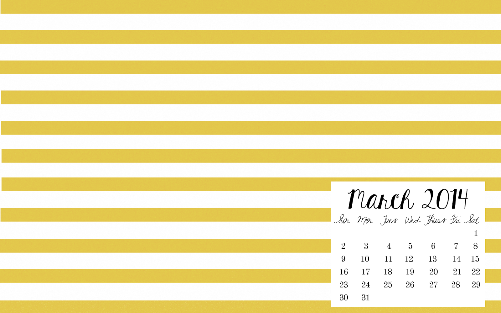 March April May 2014 Calendar My march 2014 desktop
